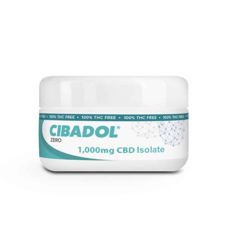Cibadol ZERO - 99+% Pure CBD Isolate POWDER