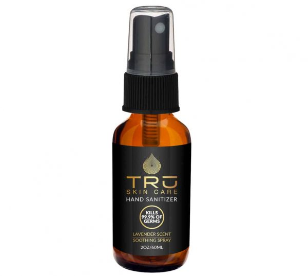 Tru Organics Hand SanitizerSoothing Spray