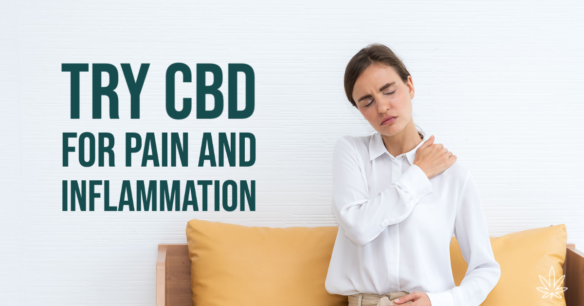 CBD Pain And Inflammation